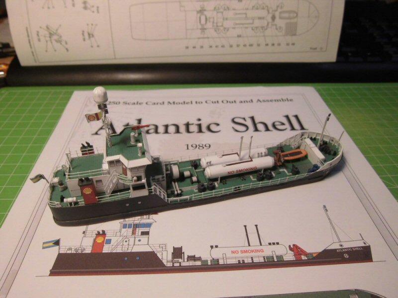 Atlantic Shell von Paper Shipwright 1:250 - Seite 2 Cimg3735