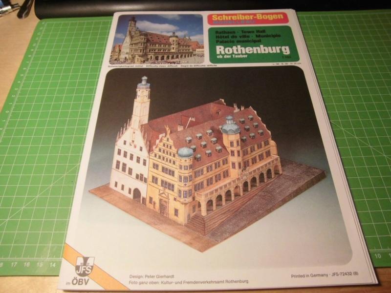 Rothenburg ob der Tauber 1:160 Schreiber Bogen Cimg3916