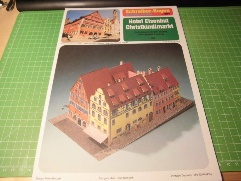 Rothenburg ob der Tauber 1:160 Schreiber Bogen Cimg3918