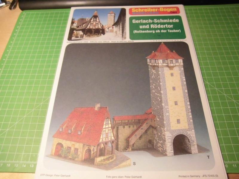 Rothenburg ob der Tauber 1:160 Schreiber Bogen Cimg3920