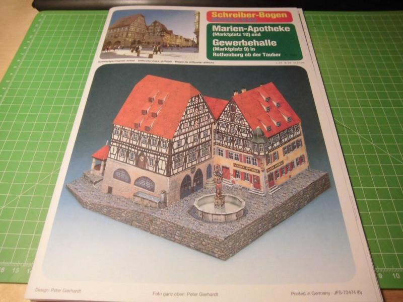 Rothenburg ob der Tauber 1:160 Schreiber Bogen Cimg3922
