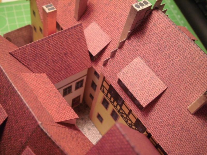 Rothenburg ob der Tauber 1:160 Schreiber Bogen Cimg3925