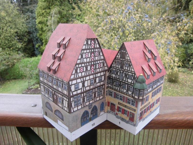 Rothenburg ob der Tauber 1:160 Schreiber Bogen Cimg4222