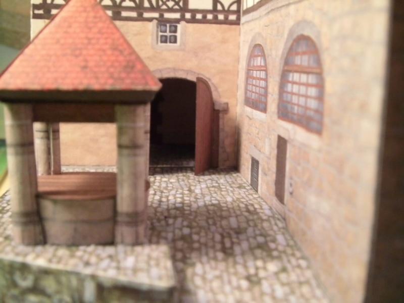 Rothenburg ob der Tauber 1:160 Schreiber Bogen Cimg4231