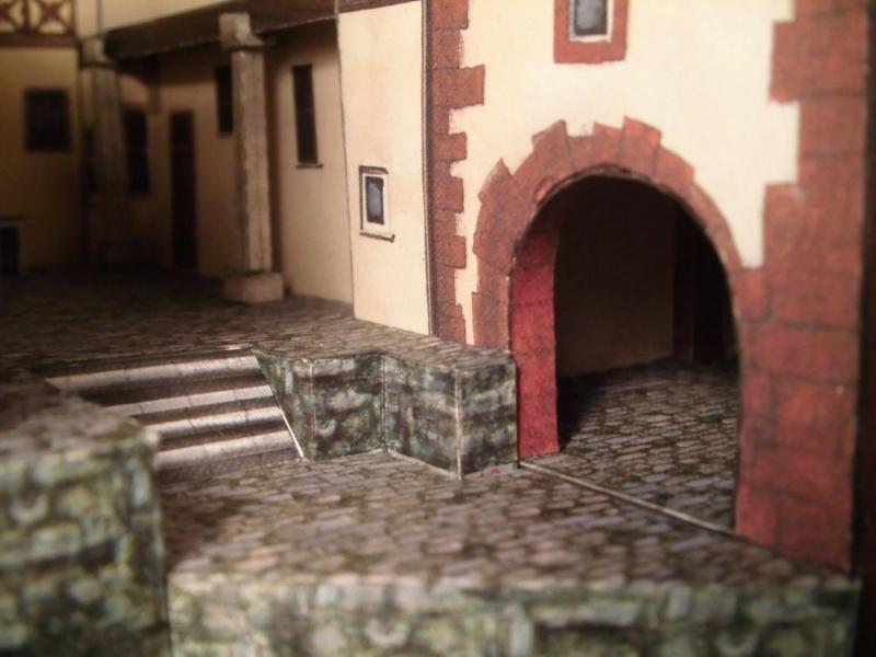 Rothenburg ob der Tauber 1:160 Schreiber Bogen Cimg4233