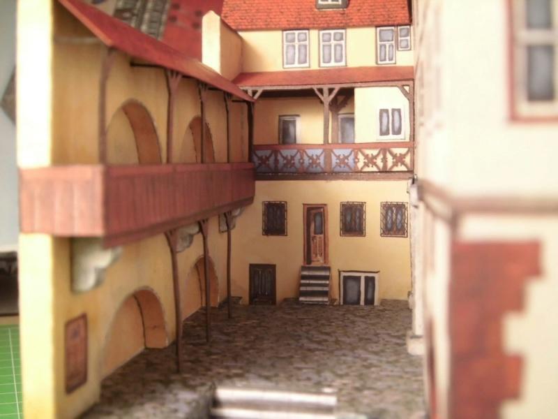 Rothenburg ob der Tauber 1:160 Schreiber Bogen Cimg4235