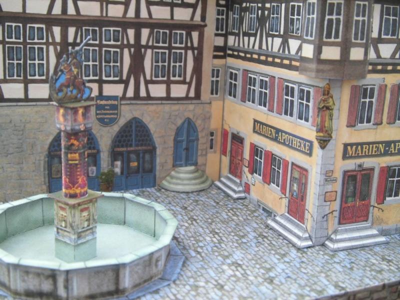 Rothenburg ob der Tauber 1:160 Schreiber Bogen Cimg4310