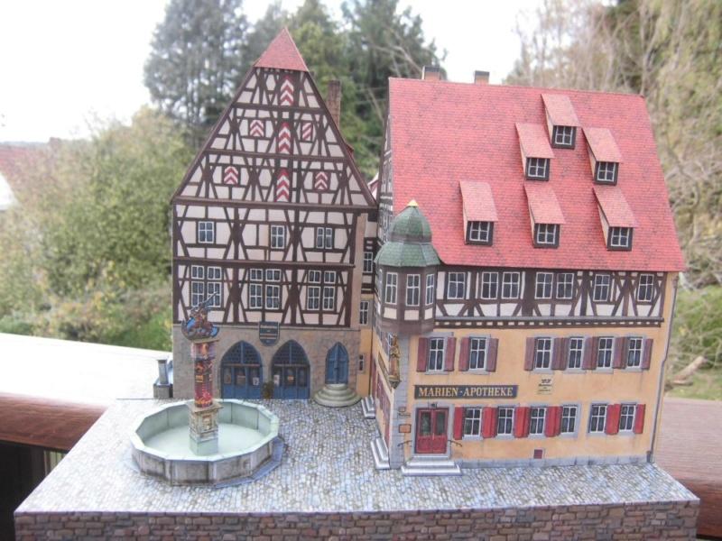 Rothenburg ob der Tauber 1:160 Schreiber Bogen Cimg4311