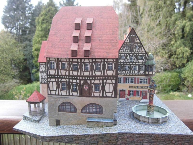 Rothenburg ob der Tauber 1:160 Schreiber Bogen Cimg4312