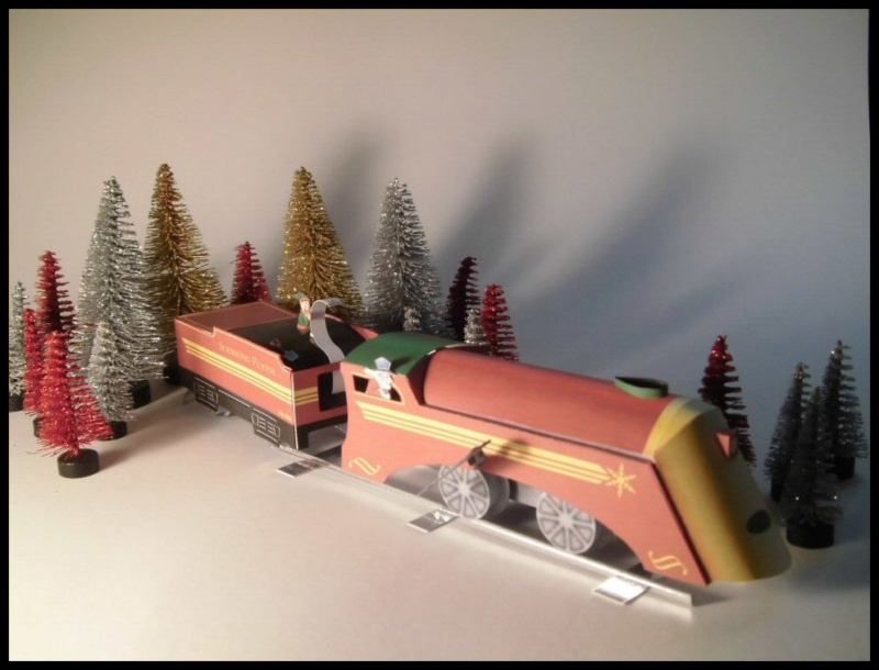 Weihnachtsbastelei: Iceburg Flyer Cimg4328