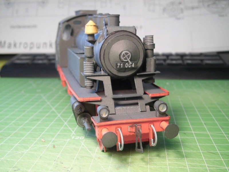 Kontrollbau BR 71 Pirling-Modell  1:55 Cimg4512