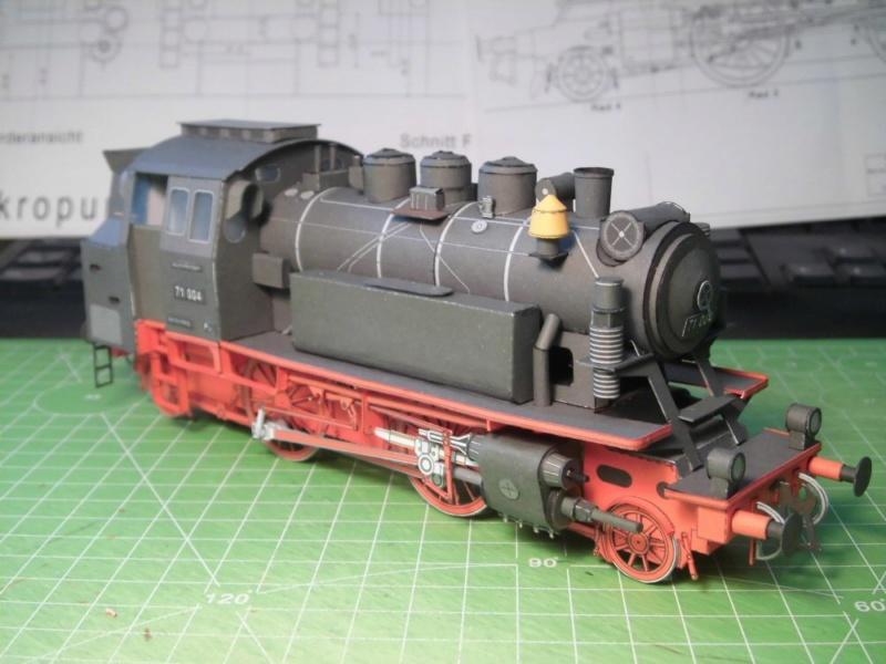 Kontrollbau BR 71 Pirling-Modell  1:55 Cimg4513