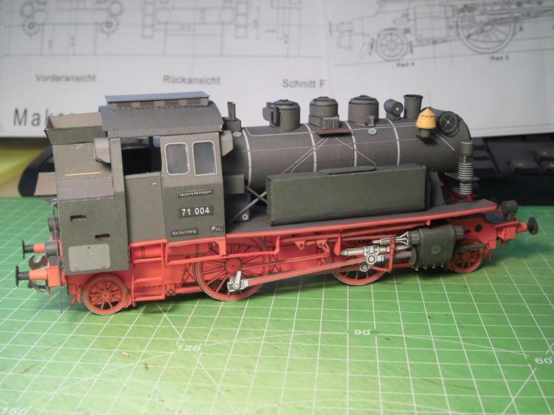 Kontrollbau BR 71 Pirling-Modell  1:55 Cimg4514