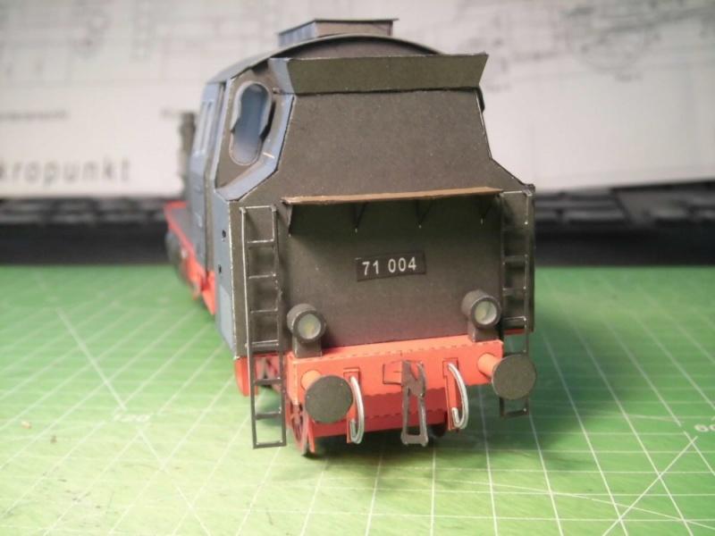 Kontrollbau BR 71 Pirling-Modell  1:55 Cimg4515