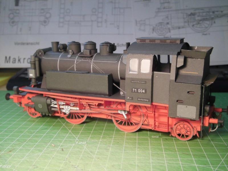 Kontrollbau BR 71 Pirling-Modell  1:55 Cimg4516