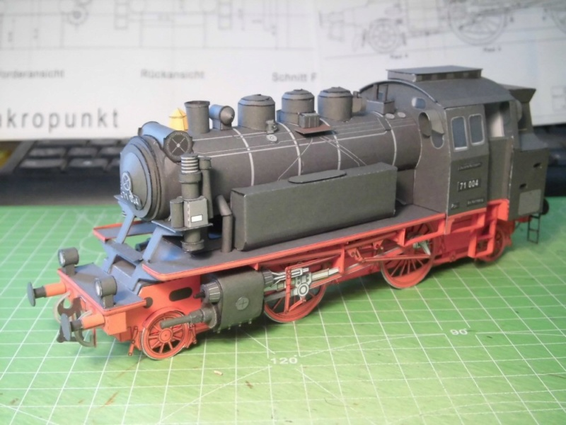 Kontrollbau BR 71 Pirling-Modell  1:55 Cimg4517