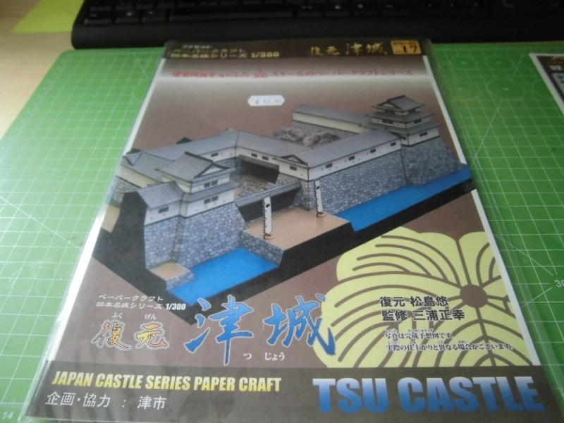 Tsu Castle, Japan     Facet 1:300 Cimg4633