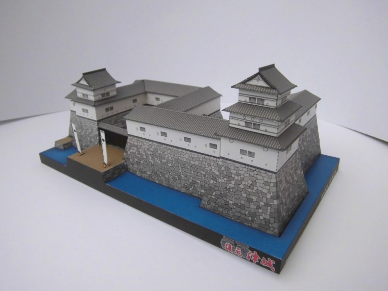 Tsu Castle, Japan     Facet 1:300 Cimg4637
