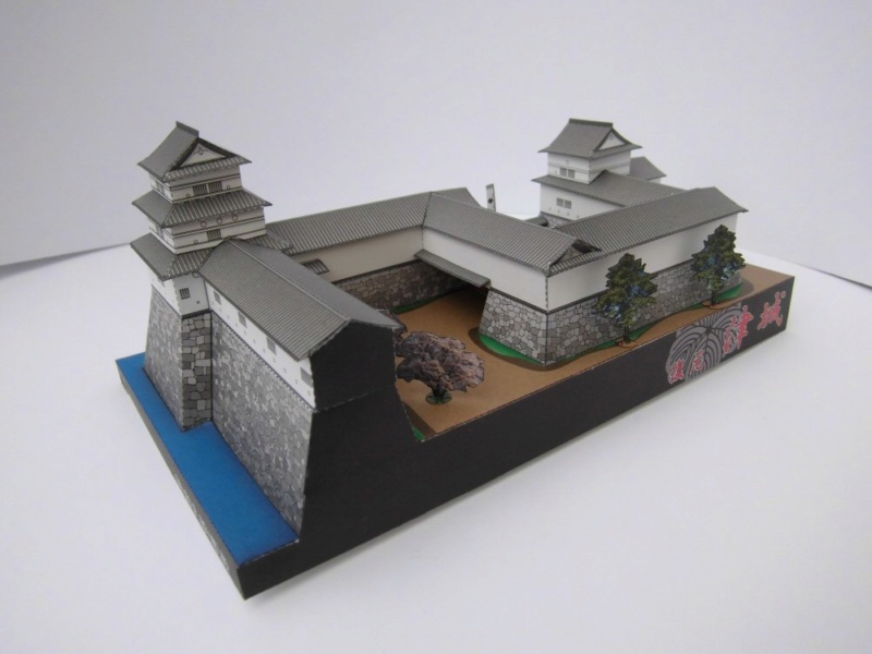 Tsu Castle, Japan     Facet 1:300 Cimg4638