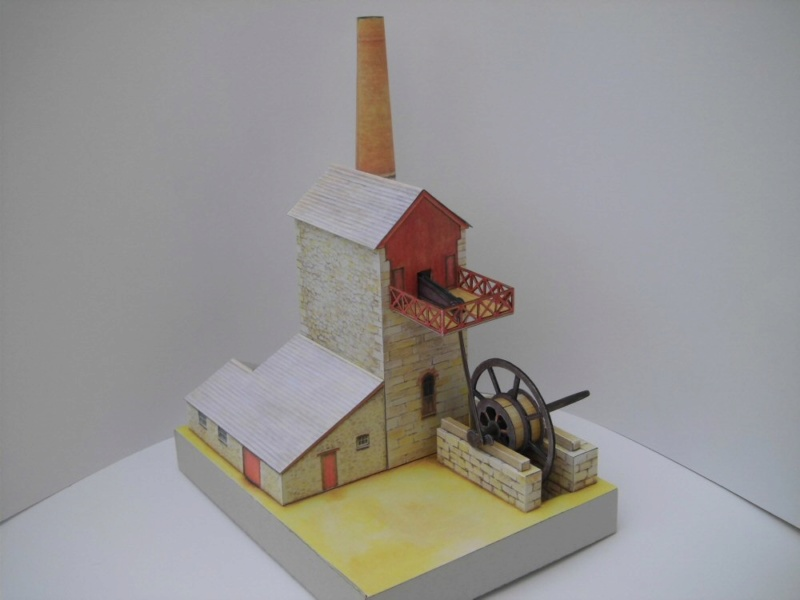 Cornish Tin Mine Engine House / Heritage Models, 1:90 Cimg4732