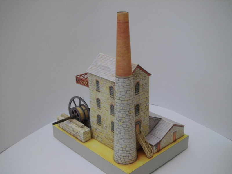 Cornish Tin Mine Engine House / Heritage Models, 1:90 Cimg4733