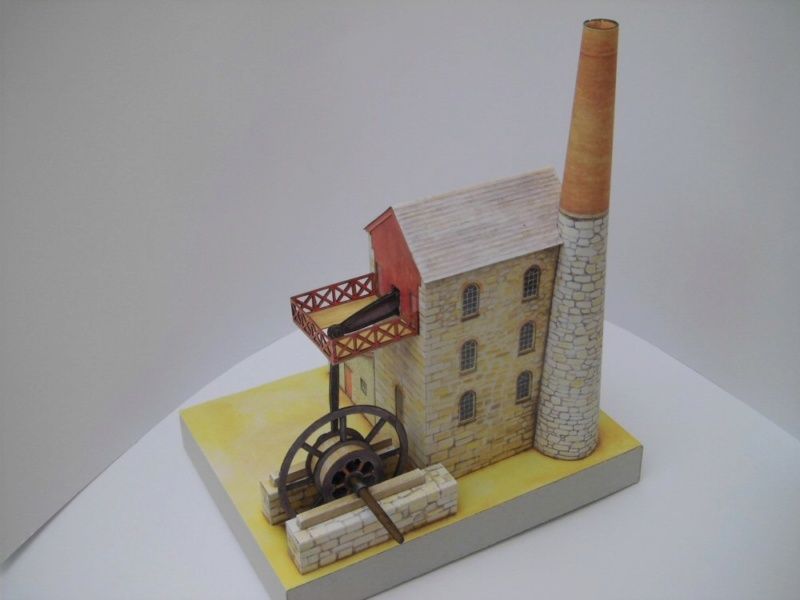 Cornish Tin Mine Engine House / Heritage Models, 1:90 Cimg4735
