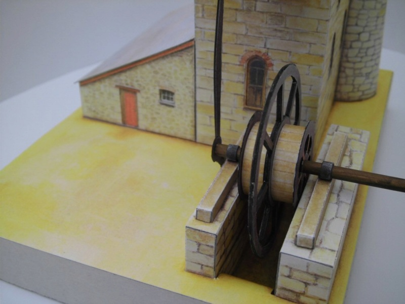 Cornish Tin Mine Engine House / Heritage Models, 1:90 Cimg4737