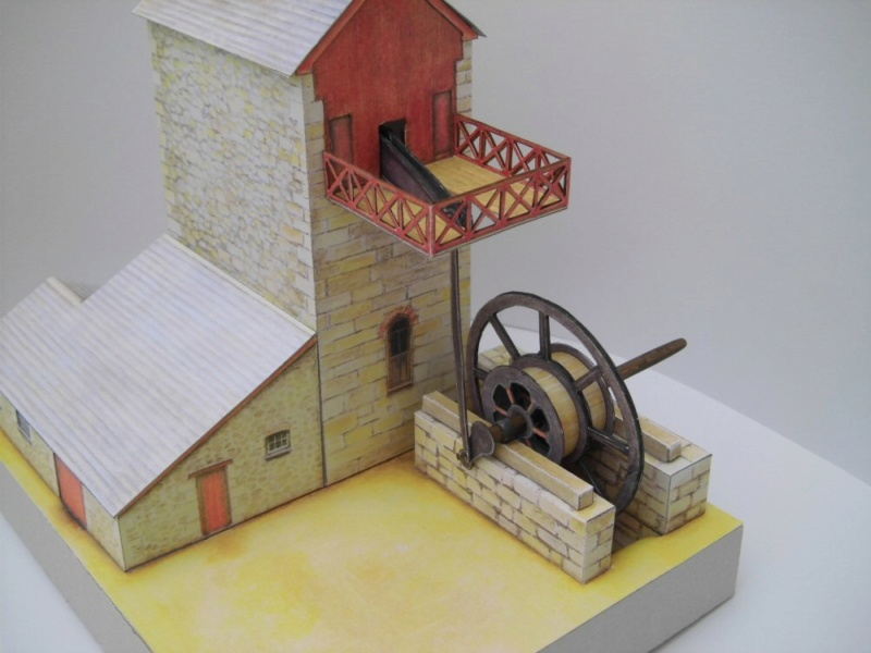 Cornish Tin Mine Engine House / Heritage Models, 1:90 Cimg4738