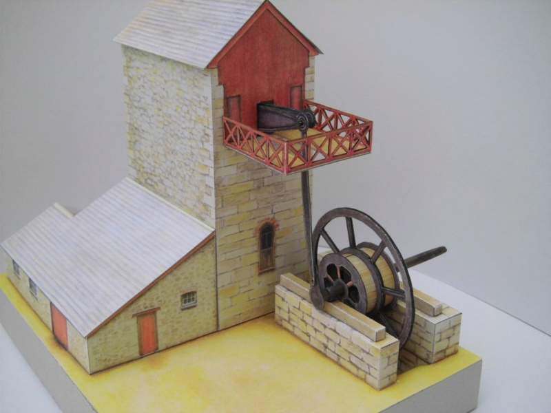 Cornish Tin Mine Engine House / Heritage Models, 1:90 Cimg4739