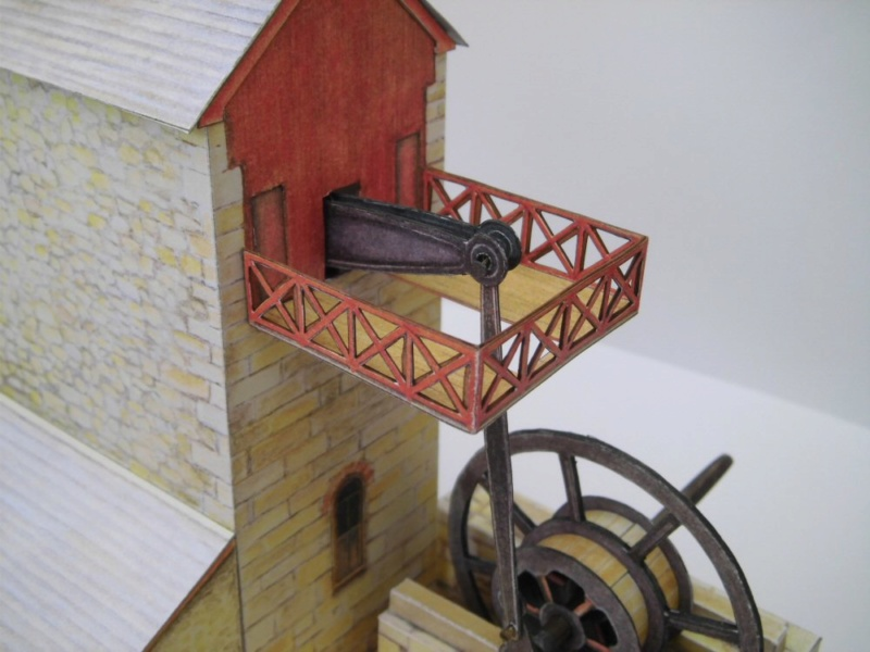 Cornish Tin Mine Engine House / Heritage Models, 1:90 Cimg4740