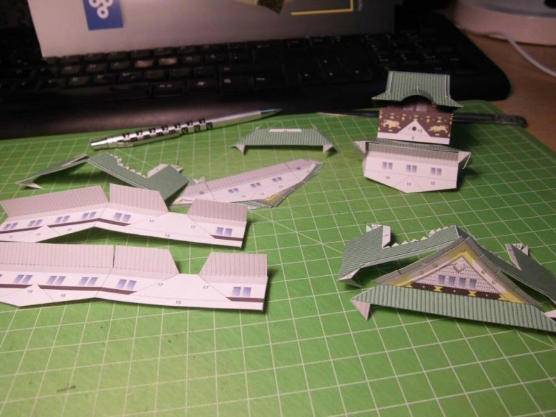 Burg Osaka / Milan Bartos, 1:160 Cimg4815