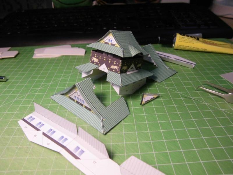 Burg Osaka / Milan Bartos, 1:160 Cimg4817