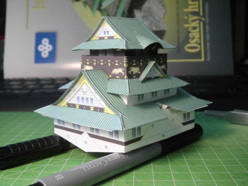 Burg Osaka / Milan Bartos, 1:160 Cimg4820