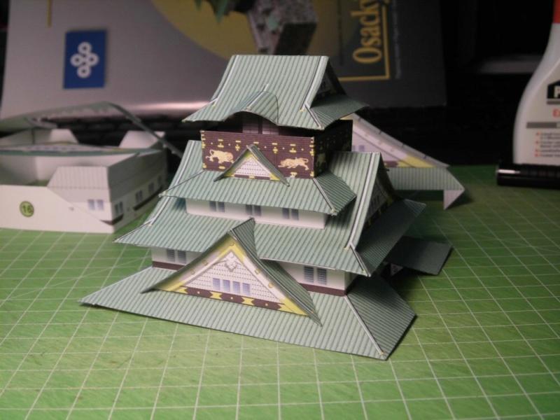 Burg Osaka / Milan Bartos, 1:160 Cimg4822