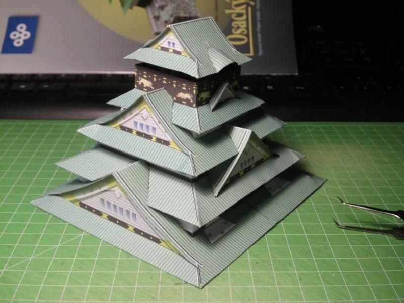 Burg Osaka / Milan Bartos, 1:160 Cimg4823