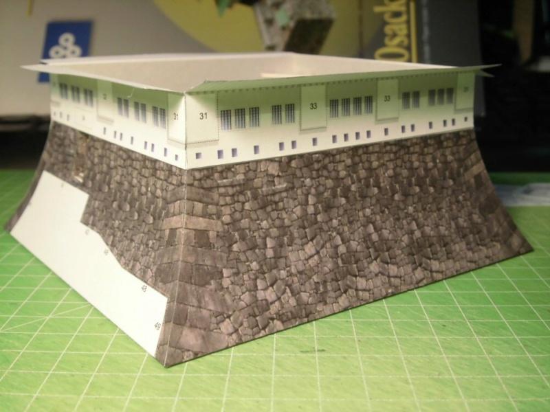 Burg Osaka / Milan Bartos, 1:160 Cimg4826