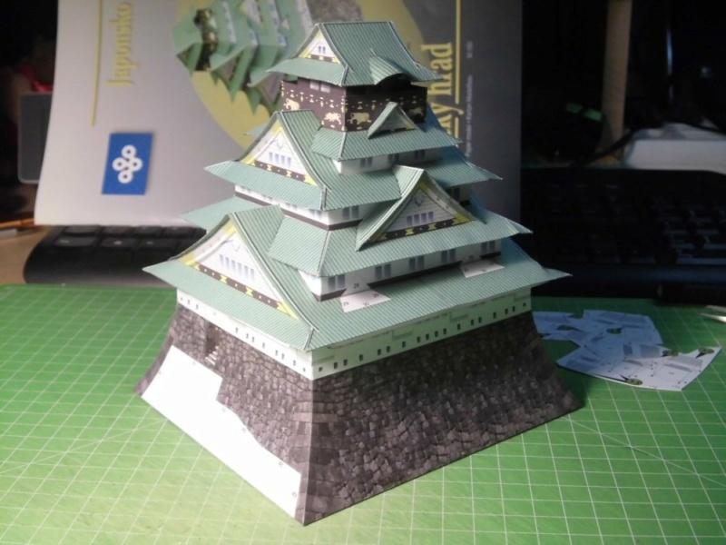 Burg Osaka / Milan Bartos, 1:160 Cimg4827