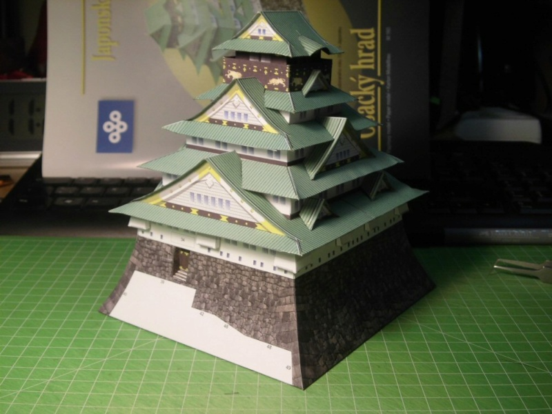 Burg Osaka / Milan Bartos, 1:160 Cimg4831