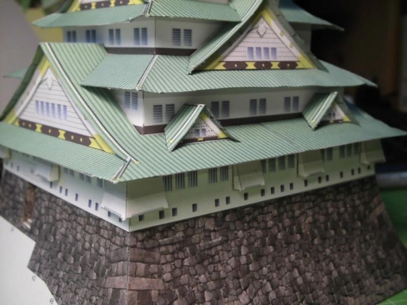 Burg Osaka / Milan Bartos, 1:160 Cimg4832