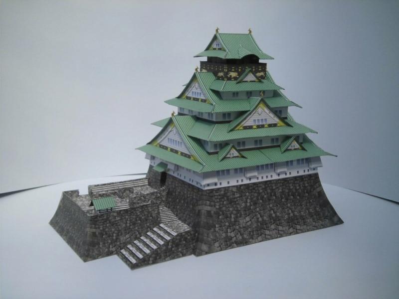 Burg Osaka Milan Bartos 1:160 Cimg4845