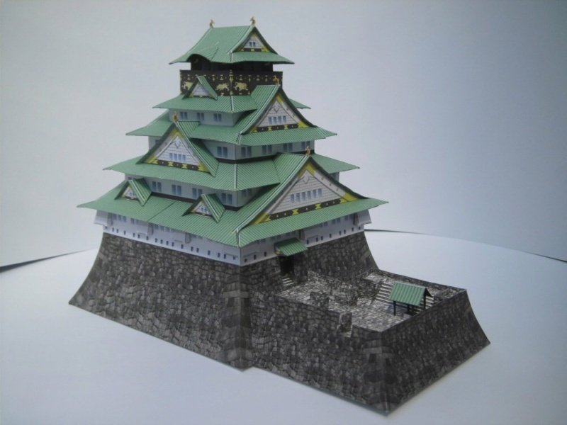 Burg Osaka Milan Bartos 1:160 Cimg4846