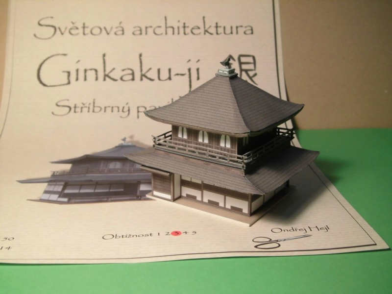 Ginkaku-ji Silberner Pavillon in Kyoto Ondrej Hejl 1:150 Cimg4956