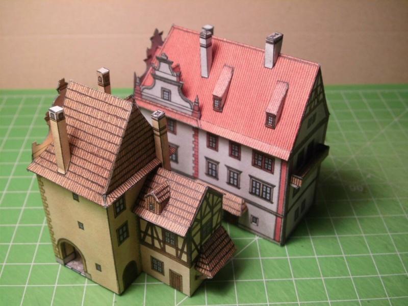 Historische Häuser aus der Prager Altstadt    ABC/Vyskovsky ca.1:280 Cimg5113