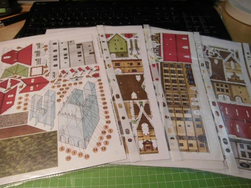 Historische Häuser aus der Prager Altstadt    ABC/Vyskovsky ca.1:280 Cimg5114