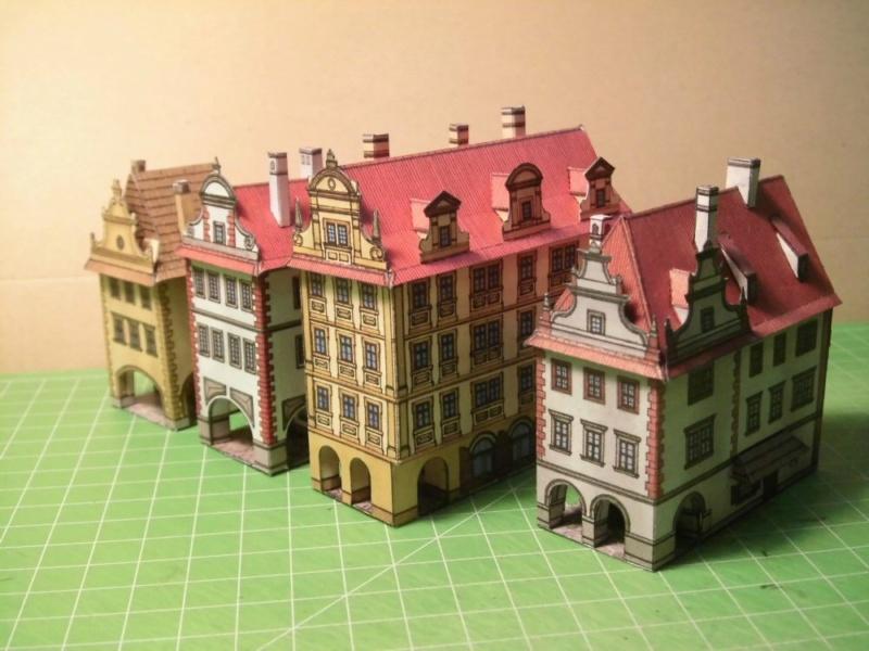 Historische Häuser aus der Prager Altstadt    ABC/Vyskovsky ca.1:280 Cimg5117