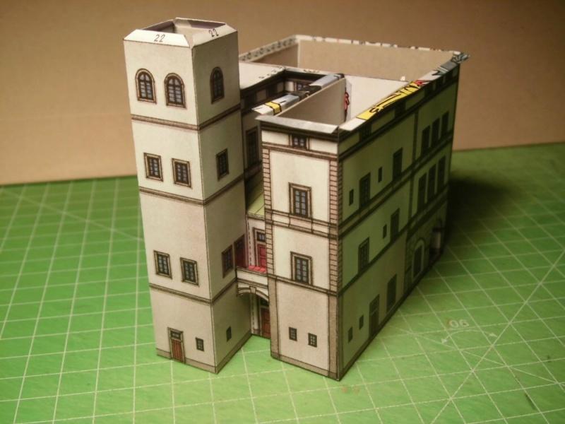 Historische Häuser aus der Prager Altstadt    ABC/Vyskovsky ca.1:280 Cimg5118