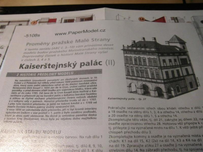 Historische Häuser aus der Prager Altstadt    ABC/Vyskovsky ca.1:280 Cimg5120