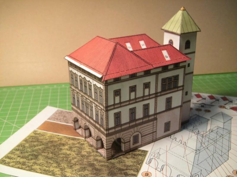 Historische Häuser aus der Prager Altstadt    ABC/Vyskovsky ca.1:280 Cimg5121