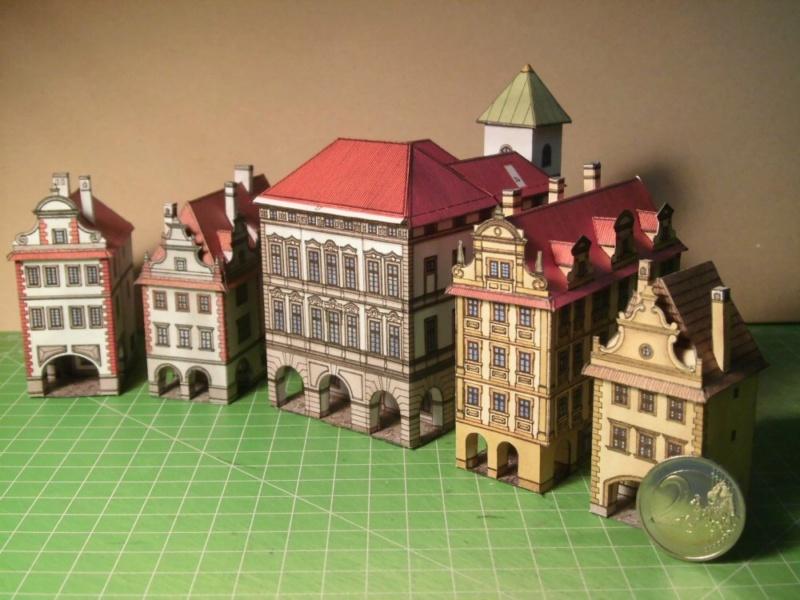 Historische Häuser aus der Prager Altstadt    ABC/Vyskovsky ca.1:280 Cimg5210