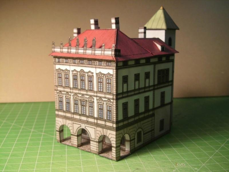 Historische Häuser aus der Prager Altstadt    ABC/Vyskovsky ca.1:280 Cimg5212